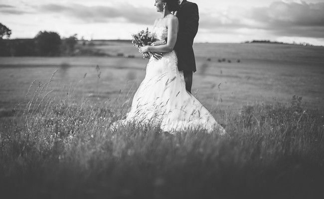 Lynsey & Adam // Fermanagh Marquee Wedding