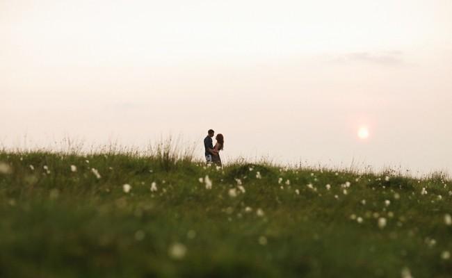 Anita & Adam // A mountain top Engagement