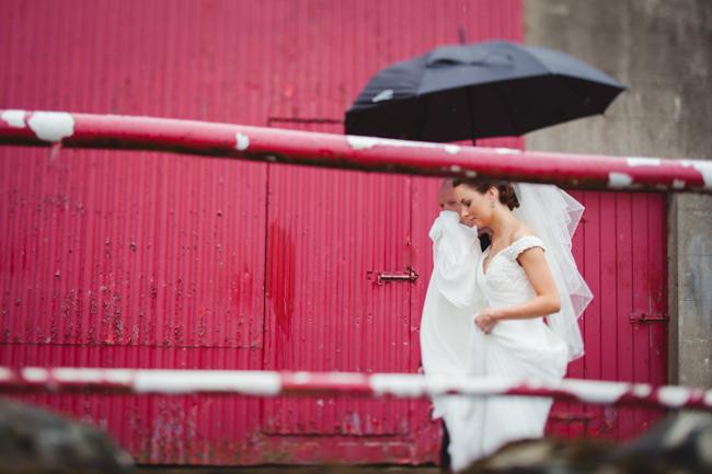 Bride morning Larchfield Estate