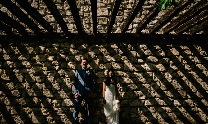 Danielle & Frits // Chateau de Lisse // French Wedding // France