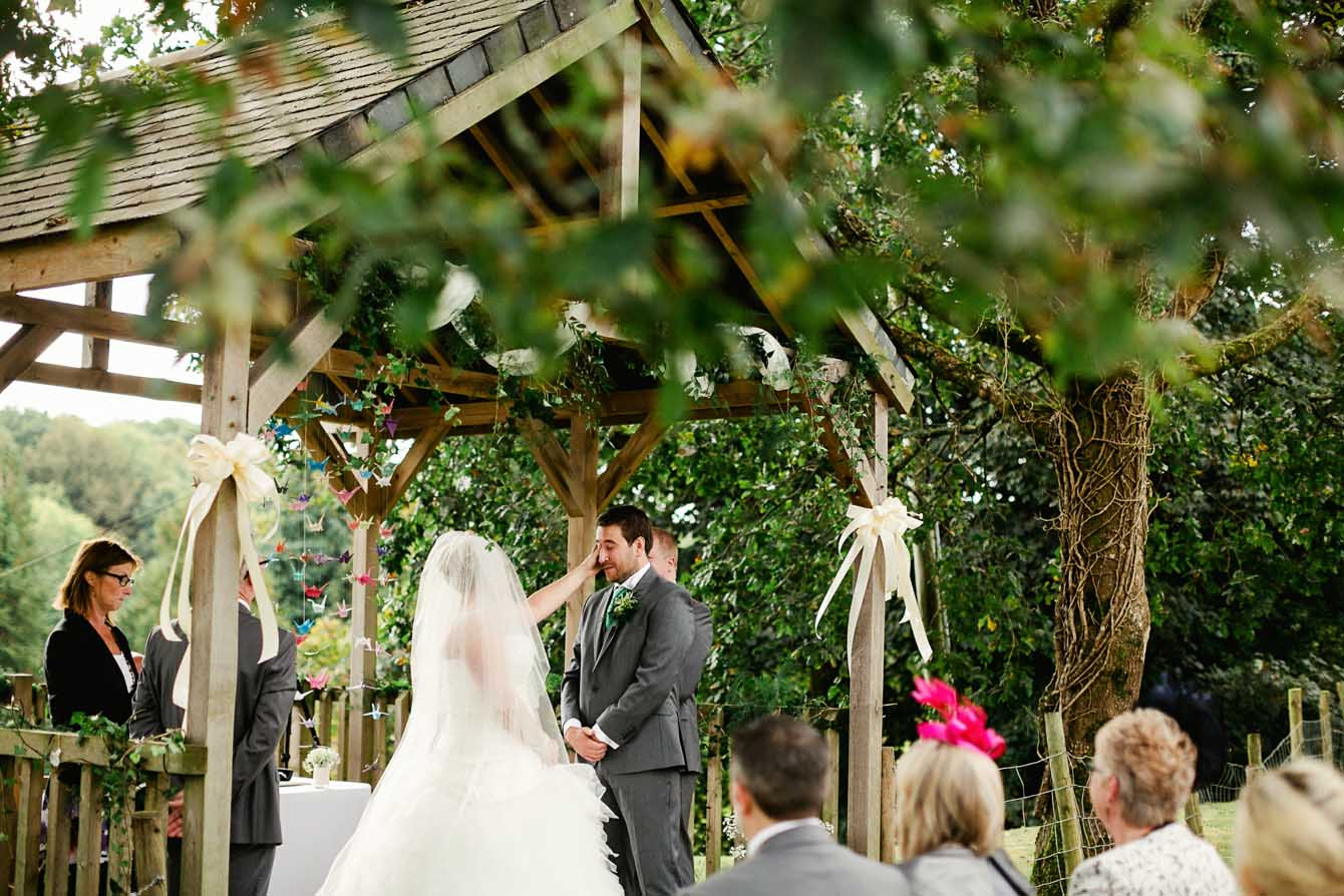 Intimate Garden Ceremony
