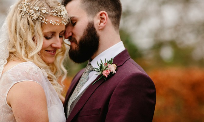 Kerry & David // GraceHall // Christmas Market Wedding