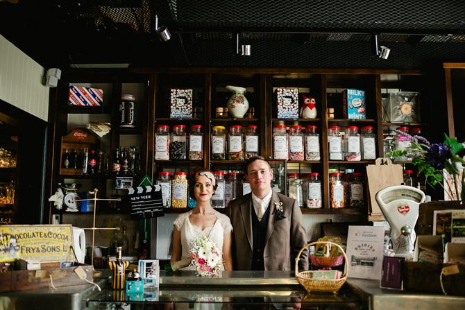 Art Deco wedding photographers