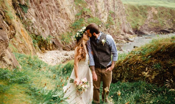 Dingle Elopement // Ariana & Cody