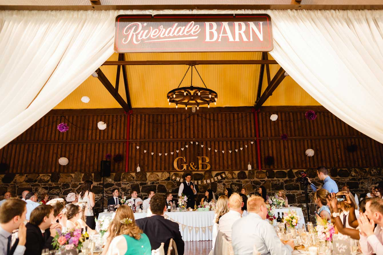 Riverdale barn wedding