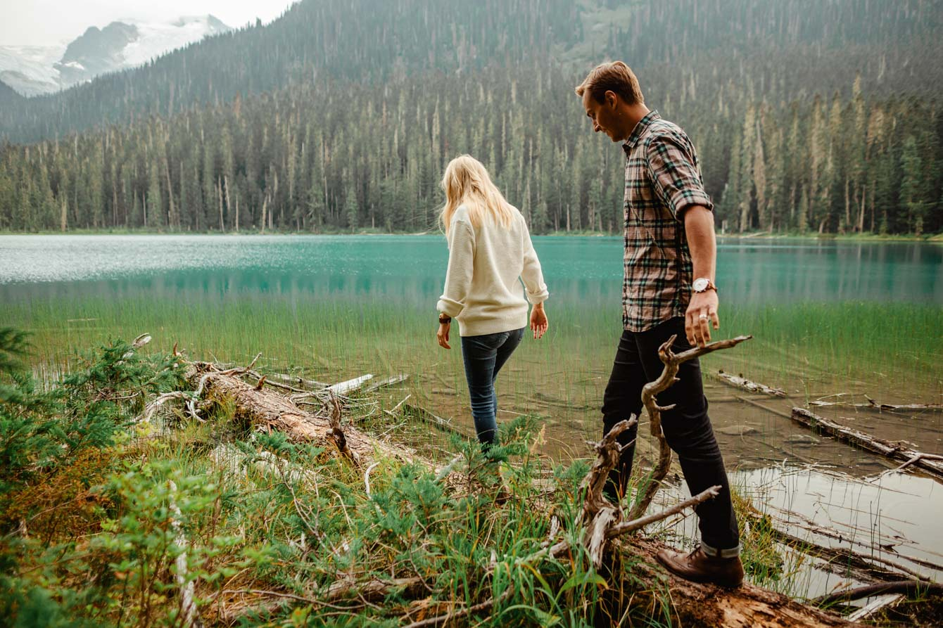 Joffre Lake Photographer - Jessica & Brian002