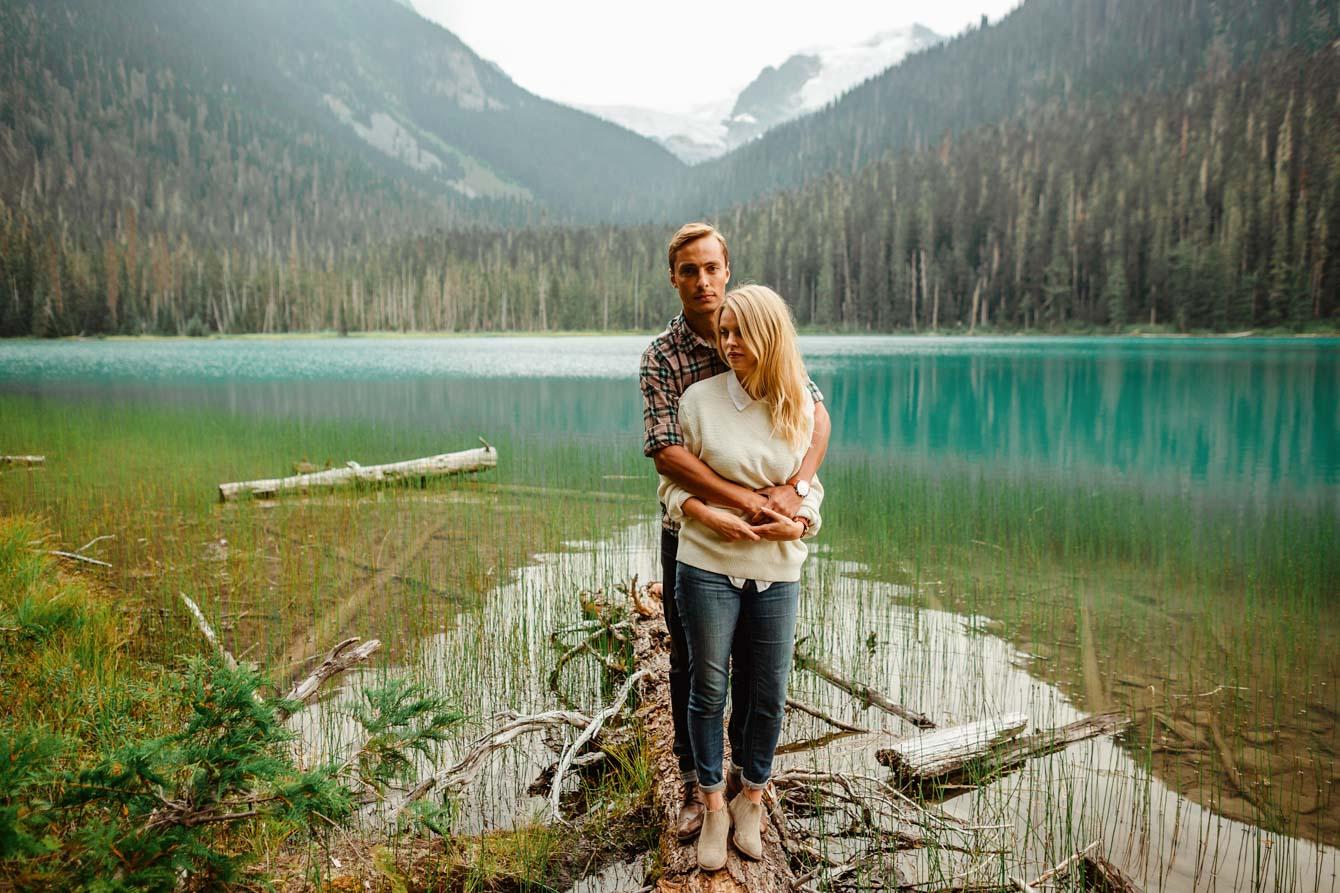 Joffre Lake Photographer - Jessica & Brian003