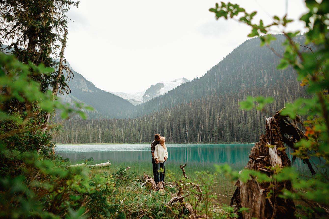 Joffre Lake Photographer - Jessica & Brian005