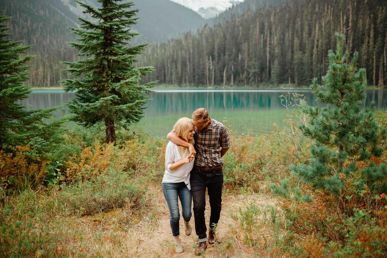 Joffre Lake Photographer - Jessica & Brian013