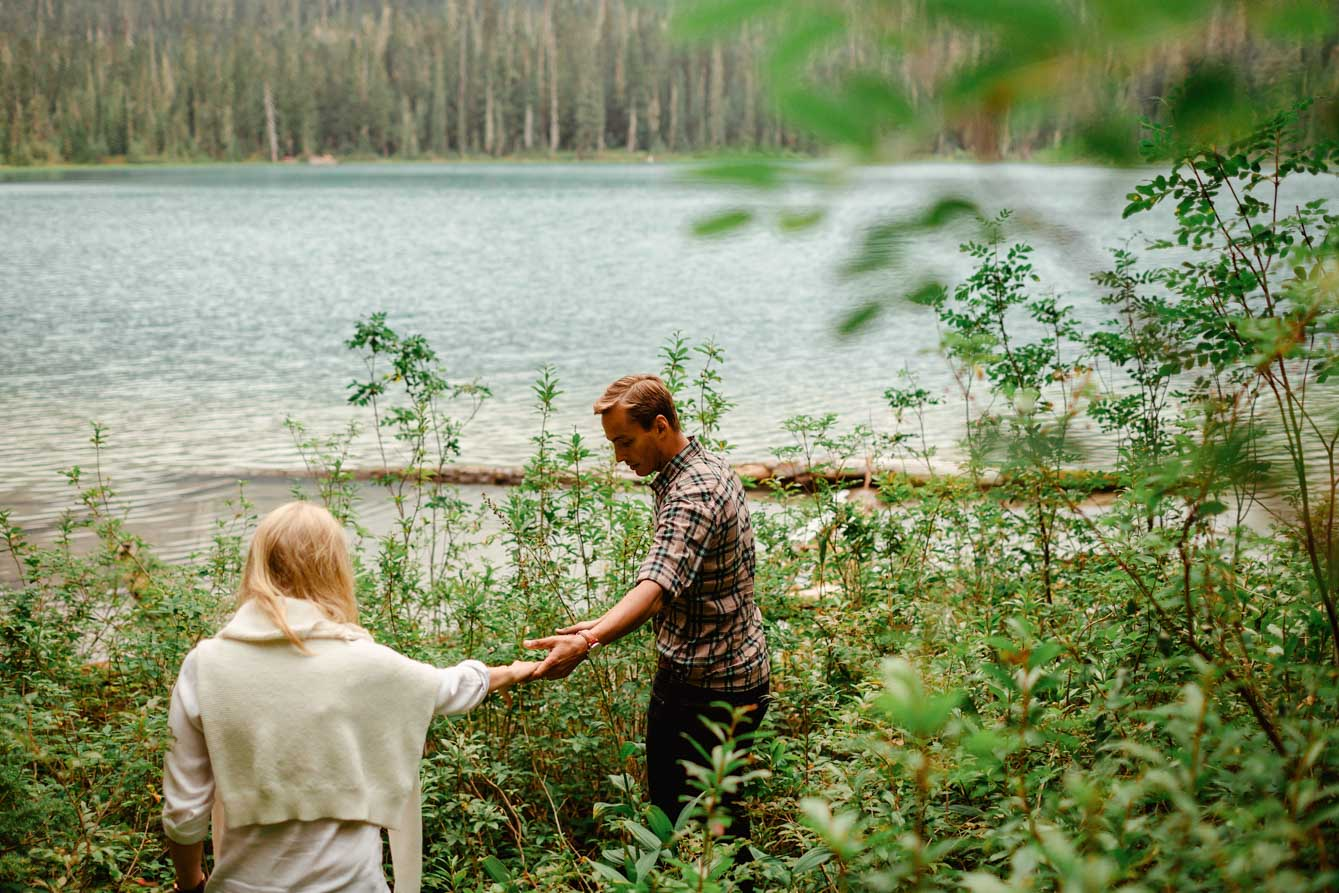 Joffre Lake Photographer - Jessica & Brian027