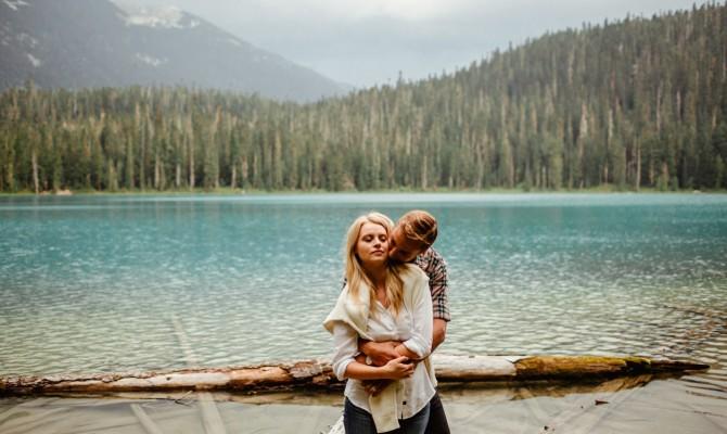 Jessica & Brian // Joffre Lake // British Columbia