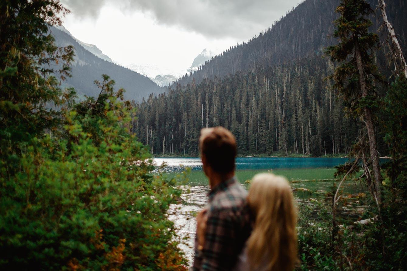 Joffre Lake Photographer - Jessica & Brian044
