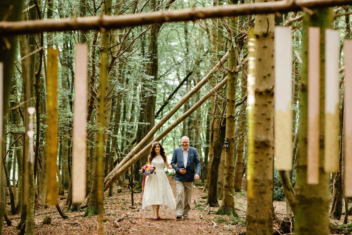 Woodland Wedding - Sarah & Gav058