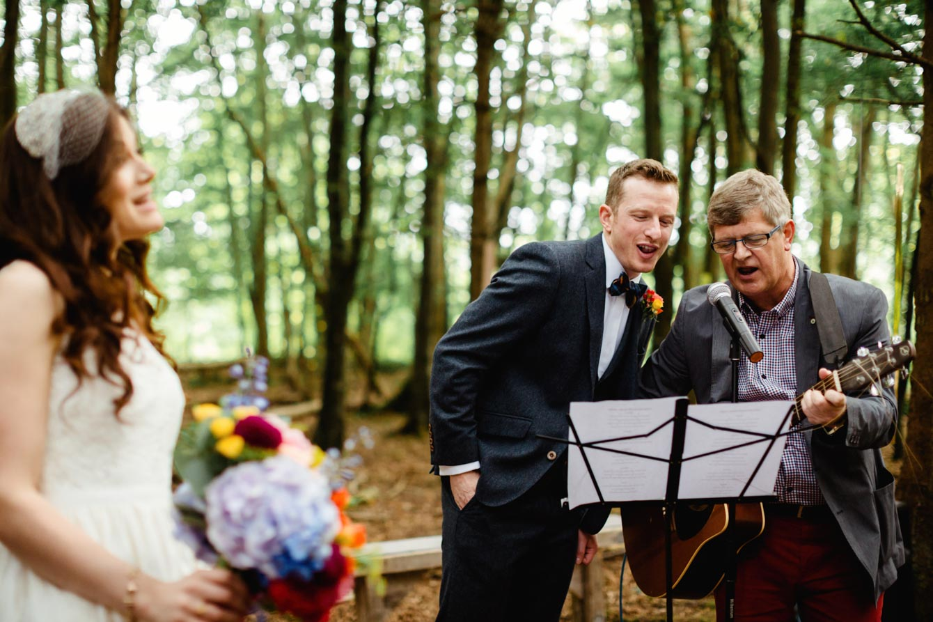 Woodland Wedding - Sarah & Gav077