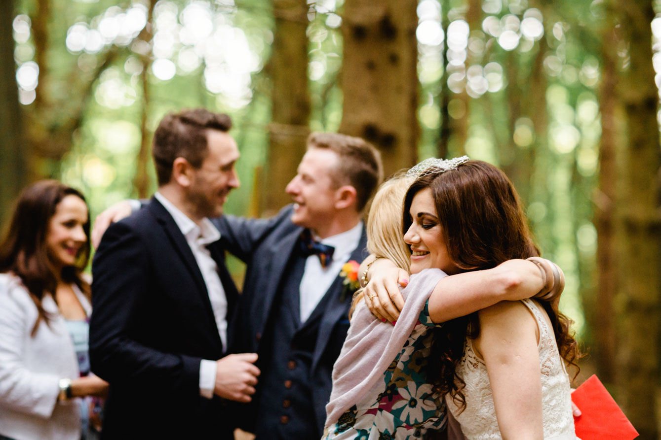 Woodland Wedding - Sarah & Gav083