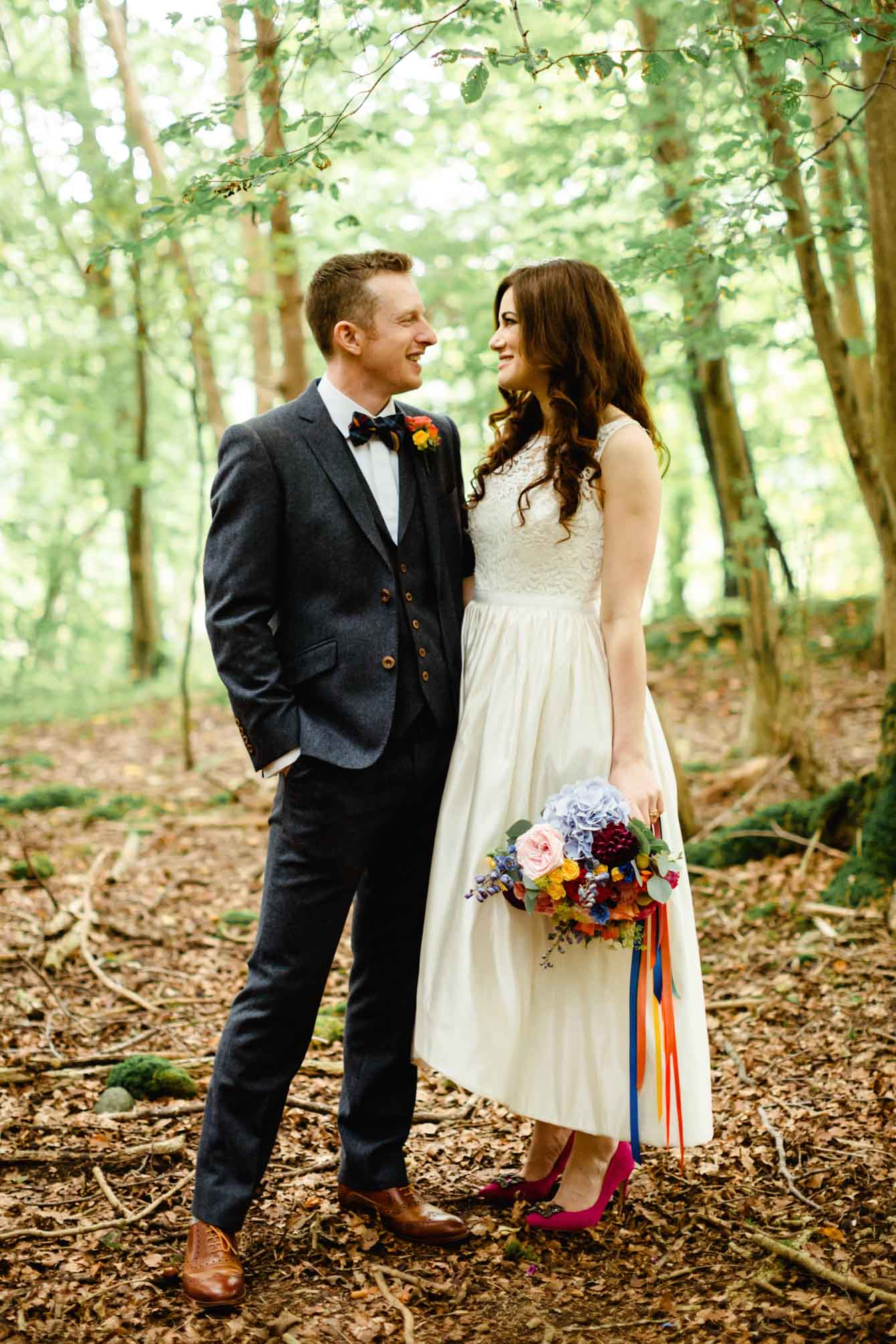 Woodland Wedding - Sarah & Gav086