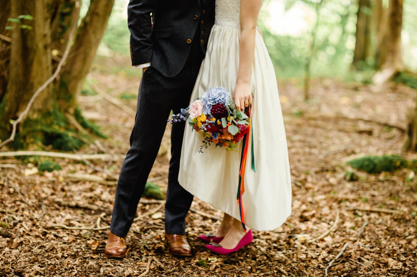 Woodland Wedding - Sarah & Gav087