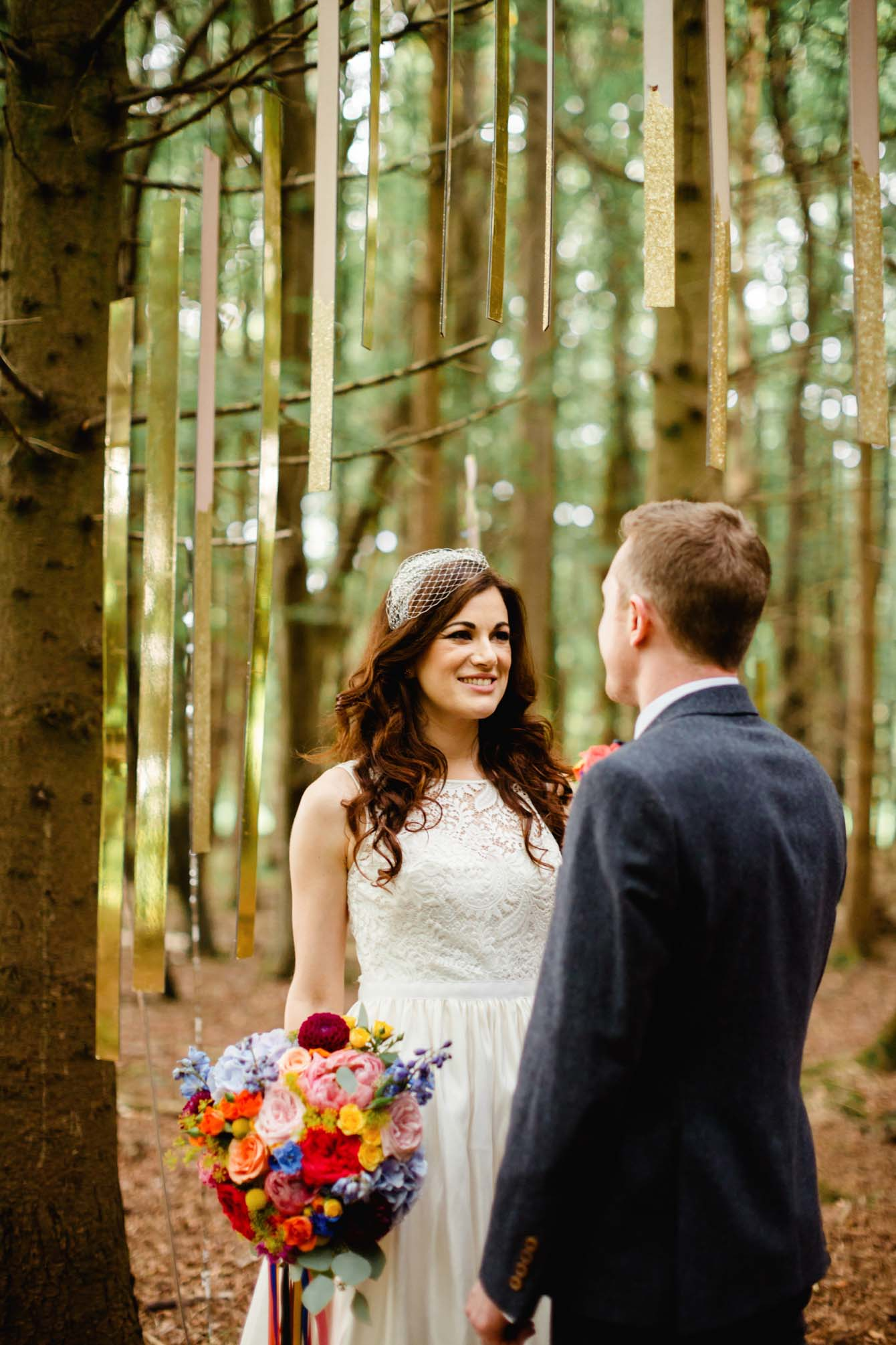 Woodland Wedding - Sarah & Gav090