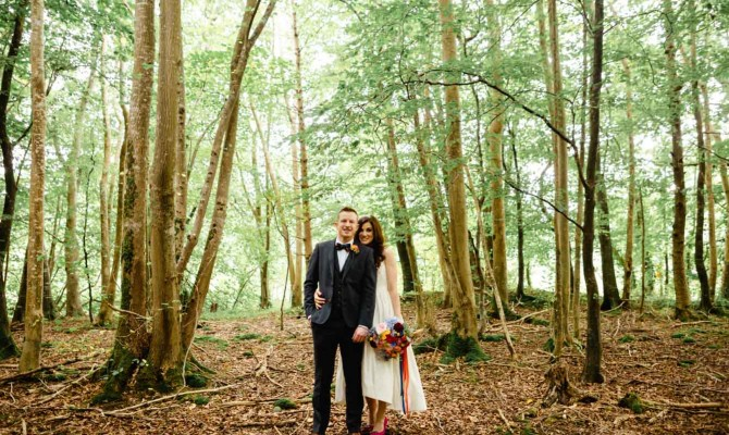 Sarah & Gav // Killyon Manor // Woodland Wedding