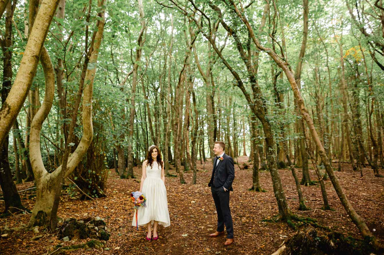 Woodland Wedding - Sarah & Gav095