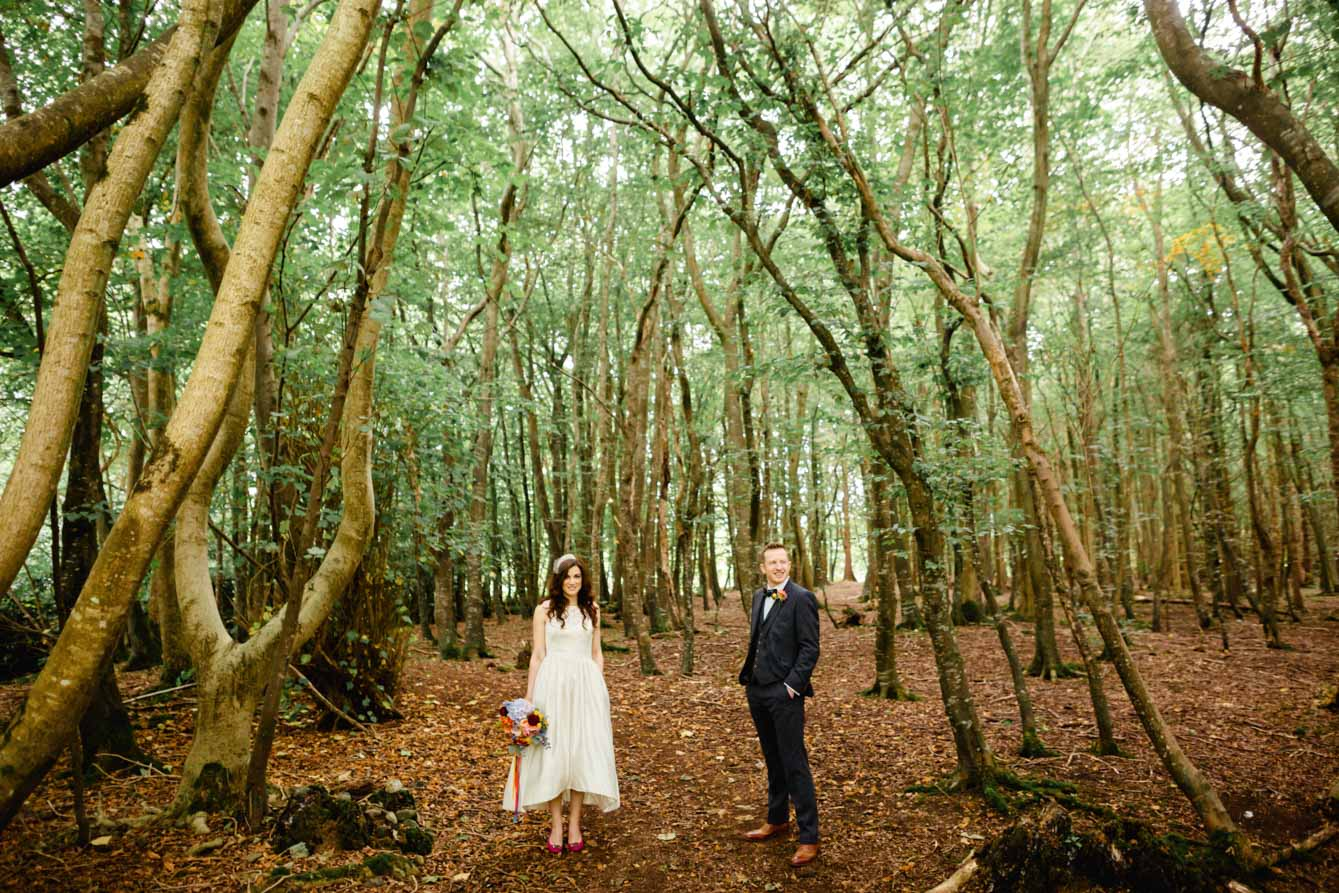 Woodland Wedding - Sarah & Gav096