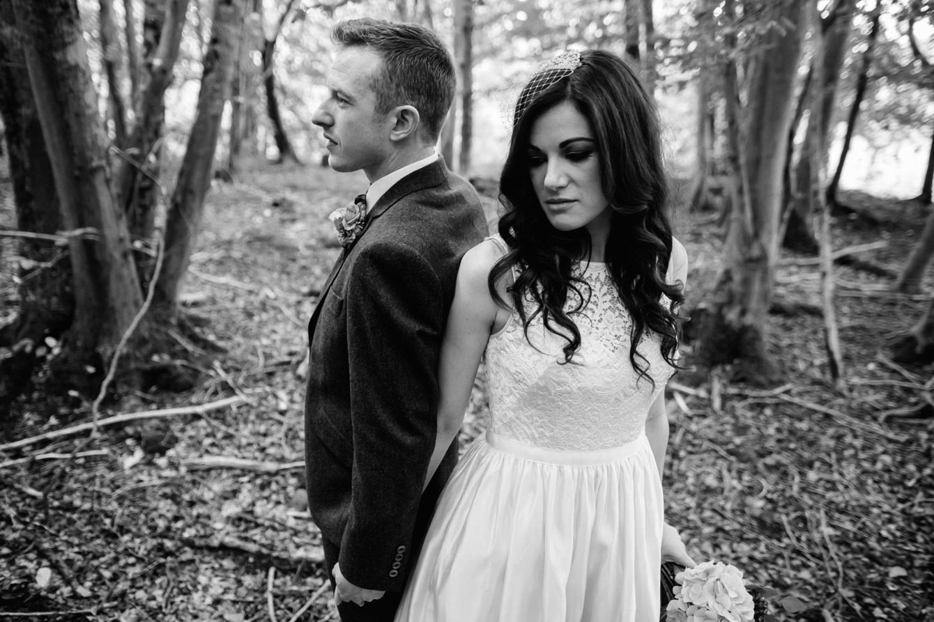 Woodland Wedding - Sarah & Gav097