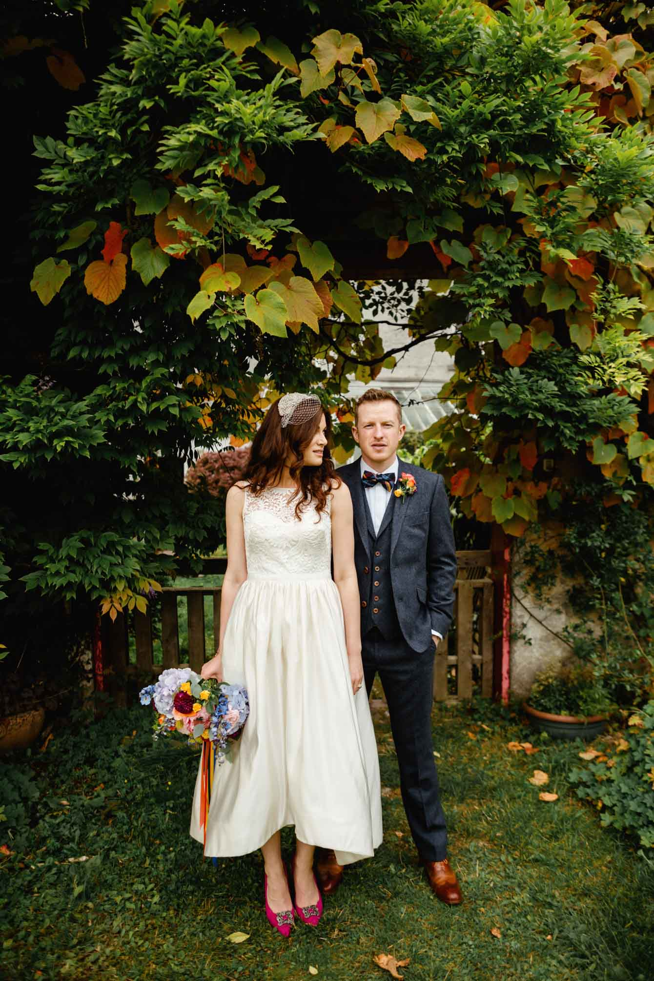 Woodland Wedding - Sarah & Gav098