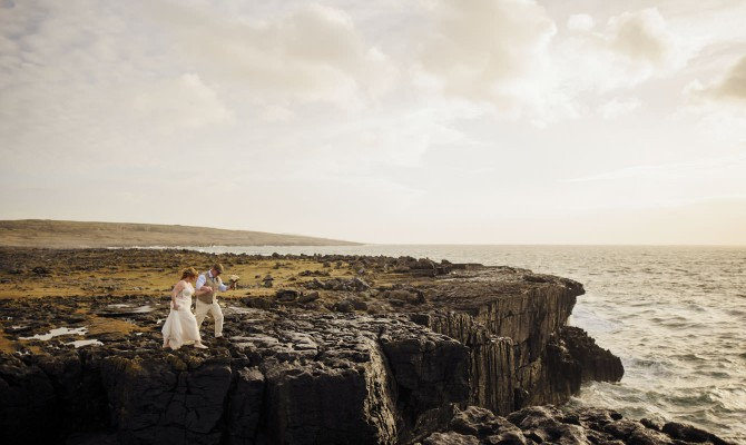 Jamie & Matt // Elopement // Doolin
