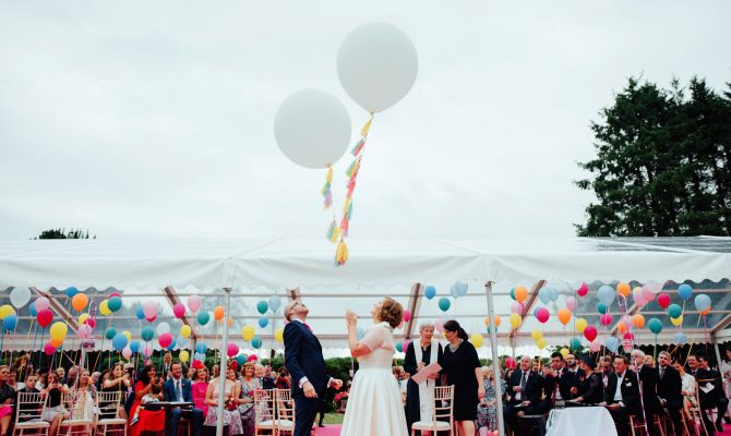 Alison & Garret // UP Inspired Wedding // Ireland