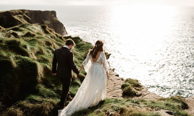 Kelsey & Craig // Irish Elopement // Cliffs of Moher