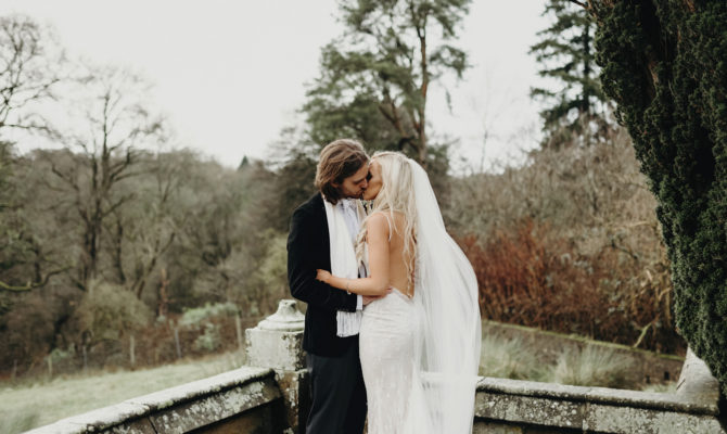 Amy & Joel // Christmas Wedding // Parkanaur House