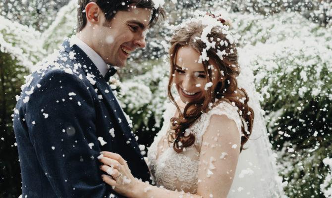 Winter Wonderland Wedding // Deyna & Andrew // Montalto Estate