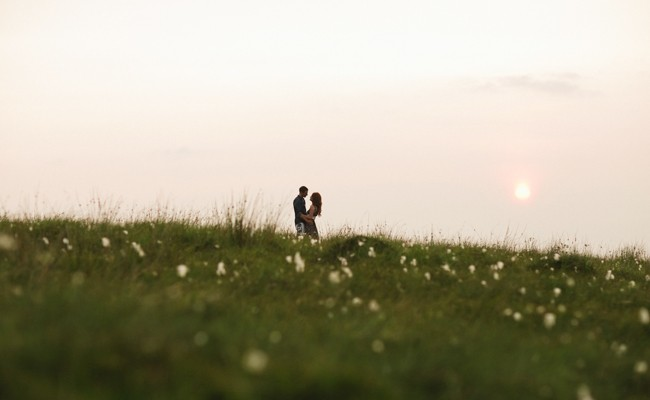 Anita & Adam // A mountain top Engagement