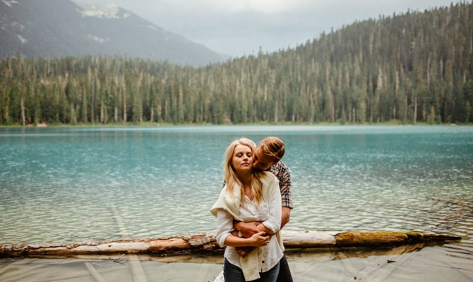 Jessica & Brian // Joffre Lake // British Columbia