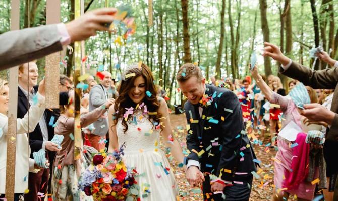 Sarah & Gav // Woodland Wedding // Killyon Manor