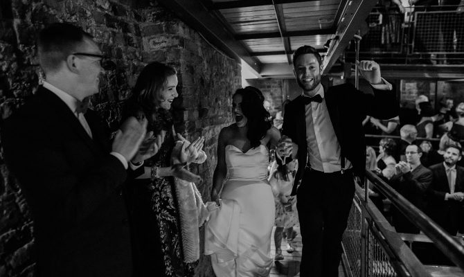 Lisa & Dan // Smock Alley Wedding // Dublin