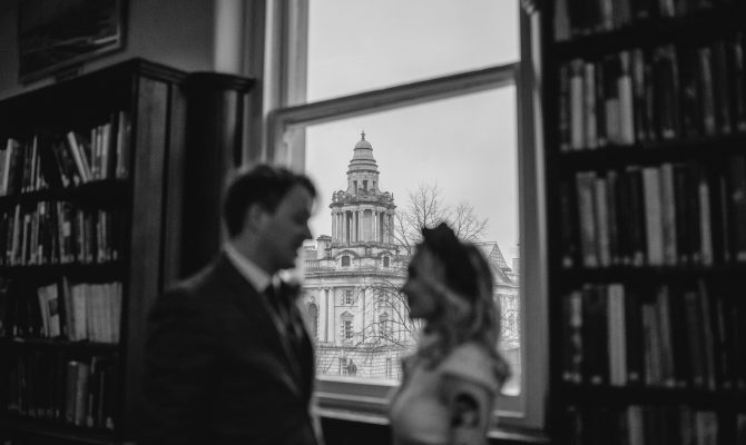 Suzanne & Ross // Library Wedding // Belfast City