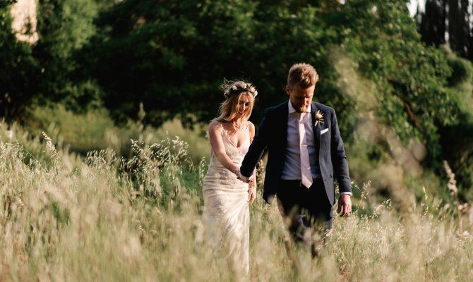 Fiona & Andy // Villa Catignano // Siena, Italy