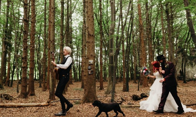 Eclectic Forest Wedding // Eustelle & Daragh // Killyon Manor