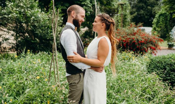 Garden Tipi Wedding // Alan & Amy // Northern Ireland