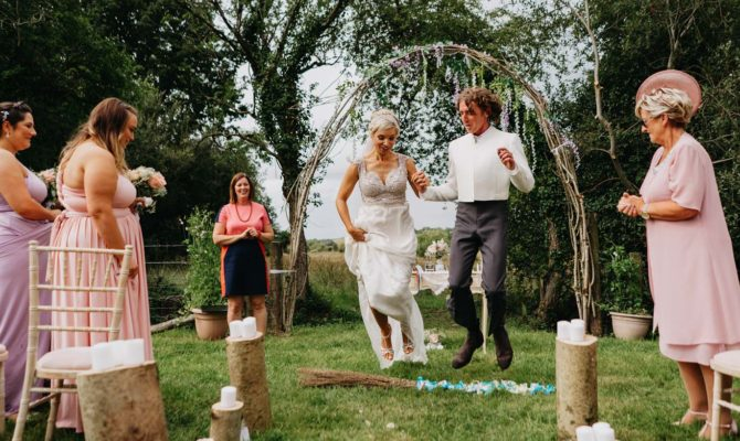 Tipi Festival Wedding // Tine & Frankie // Ireland